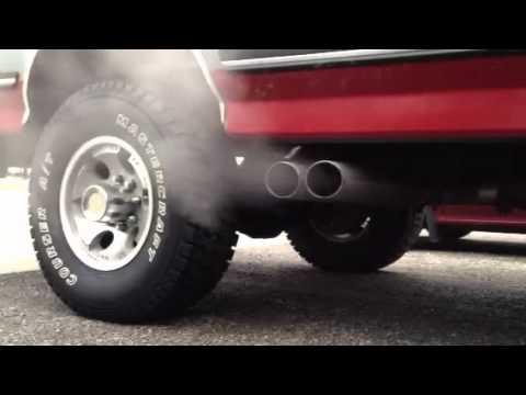 1988 ford f-250 4x4 460 big block exhaust