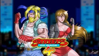 Streets Of Rage 4  Sega Vintage Classic Streets of Rage!