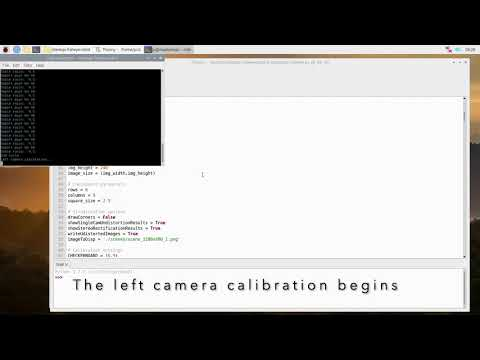 Step 4, Camera Calibration, Python Code
