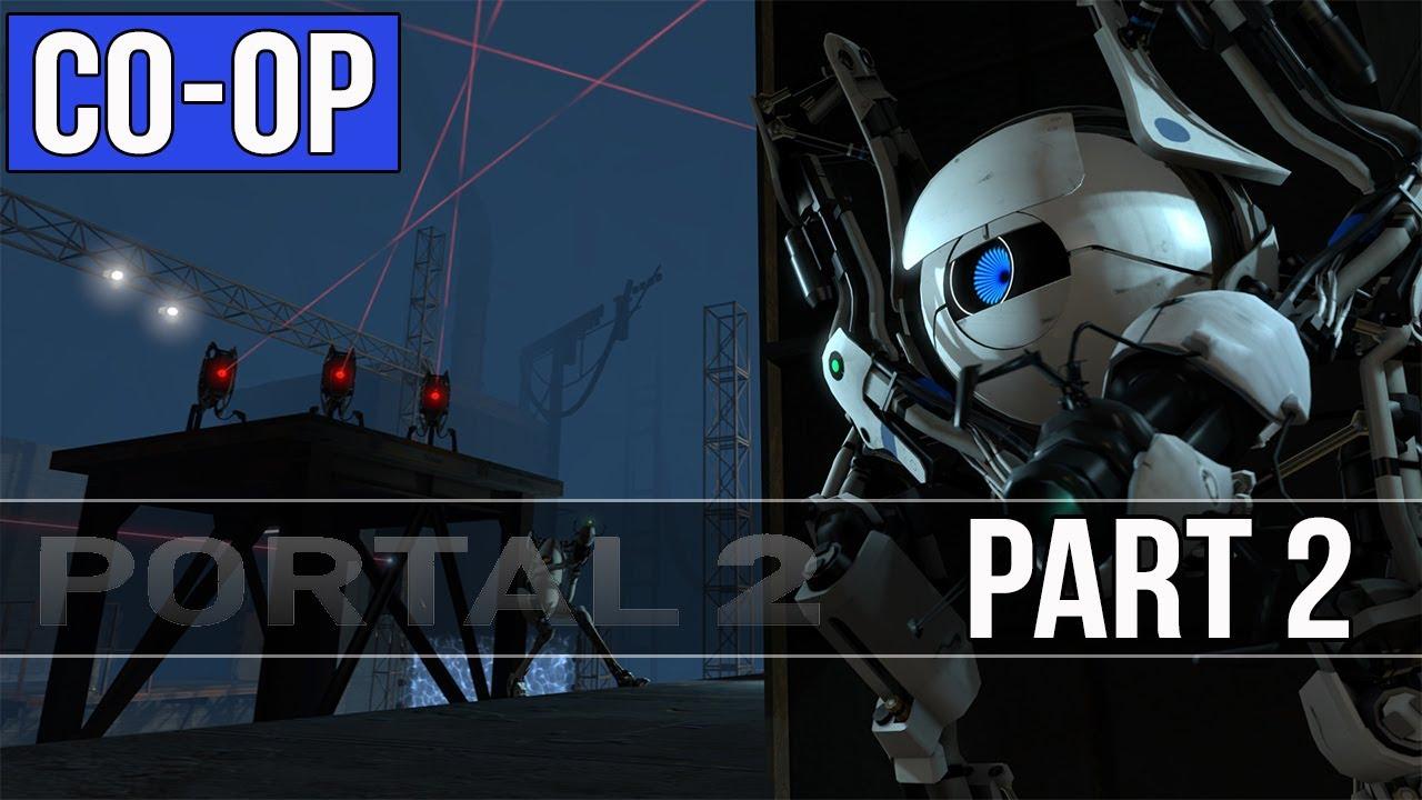 Portal 2 Co-op Walkthrough - Part 2 - Chapter 1 Gameplay