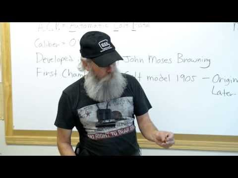 Firearms Facts Episode 22: The 45 ACP