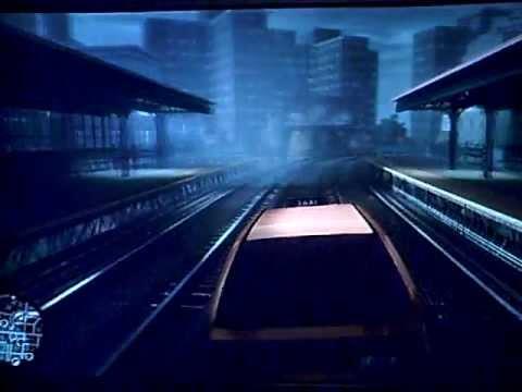 GTA IV - Train Track Getaway Drive