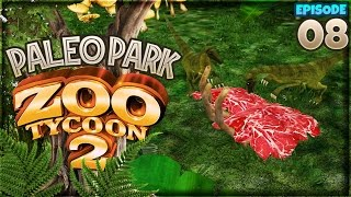 dinos from the lost world   zoo tycoon 2 paleo park part 8
