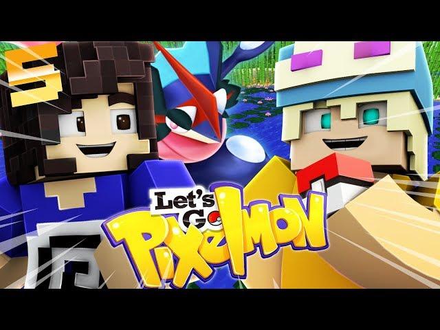 SFIDO LA PALESTRA DI DLARZZ! MEDAGLIA PALUDE! - Minecraft ITA - Let's GO Pixelmon #05