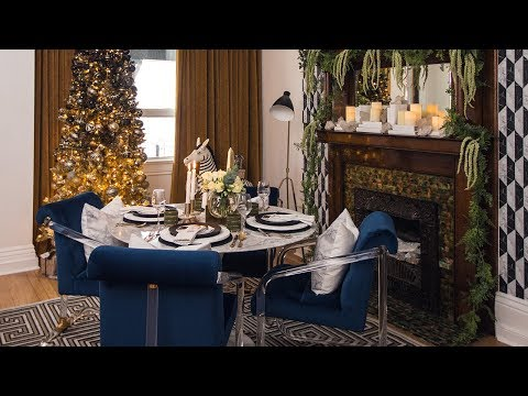 Interior Design — A Small & Glamorous Holiday Home