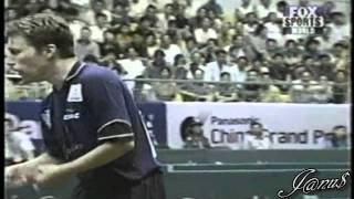 2001 China Open Finals (Waldner J-O, Ma Lin, Wang Liqin, Wang Nan, Guo Yan, LI Jia Wei ...)