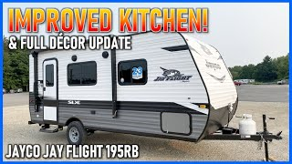 Small RV with Walk Around Bed!! 2022 Jay Flight 195RB