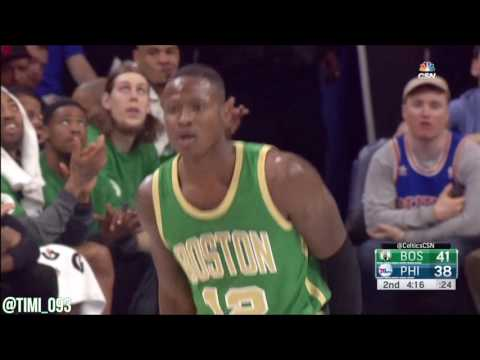 Terry Rozier Highlights vs Philadelphia 76ers (14 pts, 10 reb, 2 ast)