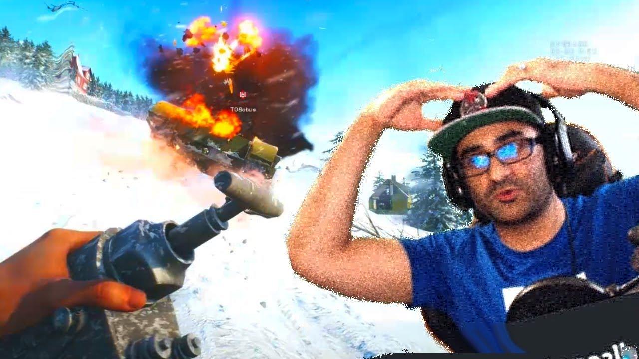 Battlefield 5 Destruction Multiplayer Gameplay