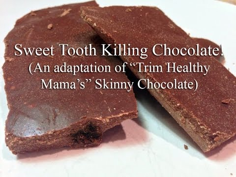 AWESOME Sugar-Free Chocolate Recipe! Picky Teenager Approved!