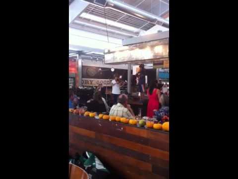 "Napa Valley Youth Symphony ""Flash Mob"" at Oxbow Market ..."
