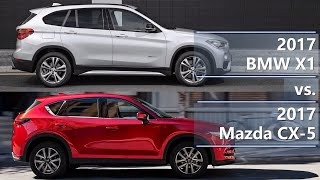 2017 BMW X1 vs 2017 Mazda CX-5 (technical comparison)