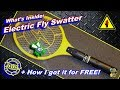 Electric Fly Swatter - Whats inside the Zap of Sparks - Salvage Plan