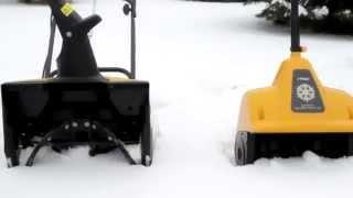 Снегоуборщики Stiga Snow Electric 31 и  Electric 45