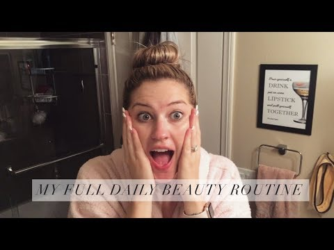 MY DAILY SKINCARE ROUTINE / BEAUTY REGIMEN
