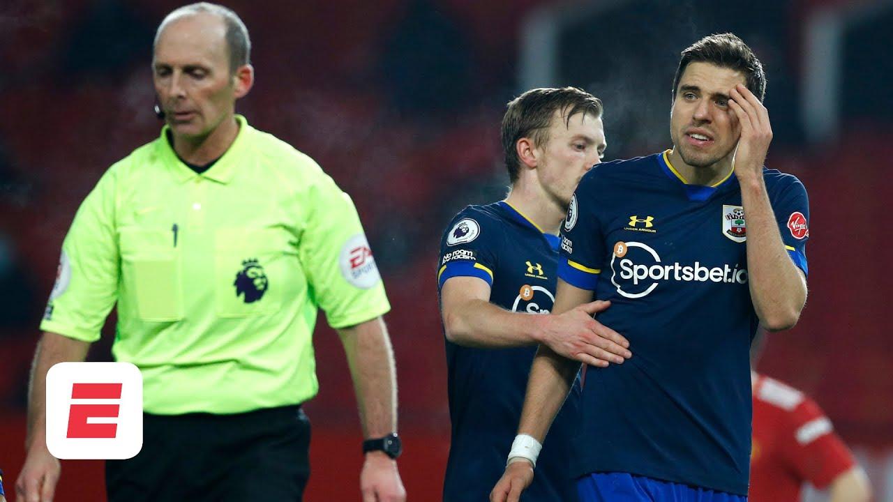 Man United vs. Southampton fallout: Saints request Mike Dean NEVER ref their games again!   ESPN FC - ESPN UK