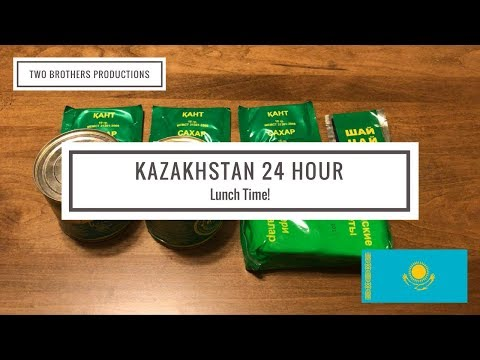 Kazakhstan 24 Hour Ration Lunch Menu (Part 2)
