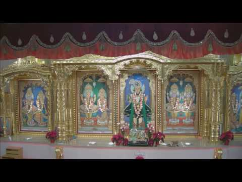 Sunday Sabha at Shree Swaminarayan Temple, Wheeling, IL 11/27/2016