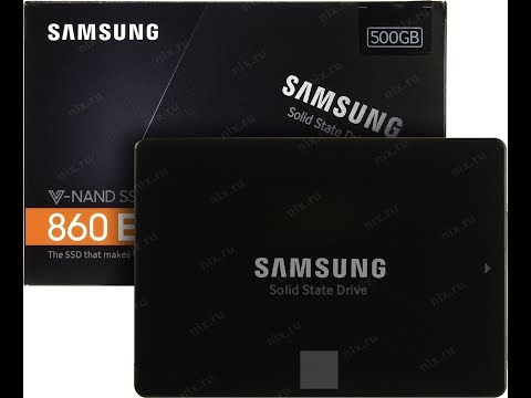 SAMSUNG SSD 860 EVO 2.5 SATA III MZ-76E500BW