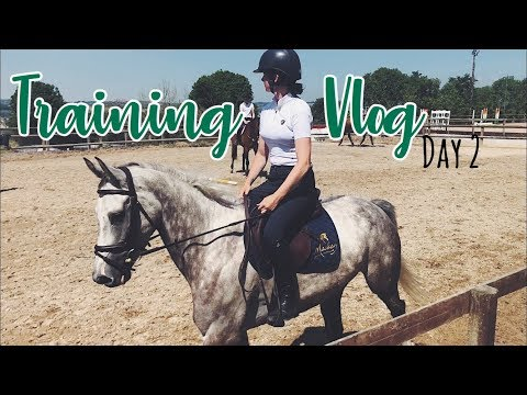JUMP LESSONS AND SPORTS PSYCHOLOGY // National Training Clinic Vlog 2
