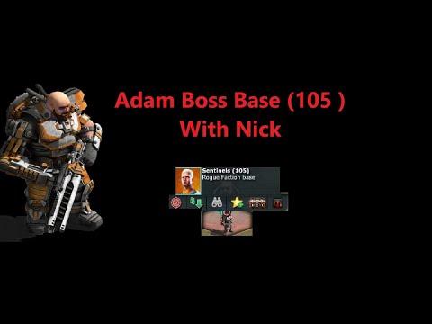 War Commander - Adam Boss Base ( 105 ) With Nick Updated .