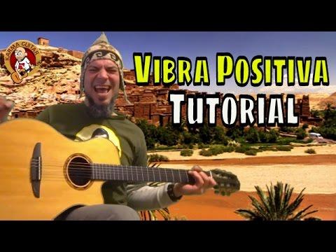 Como tocar VIBRA POSITIVA de ZONA GANJAH en GUITARRA | Tutoria Fácil para Principiantes