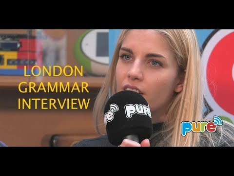 LONDON GRAMMAR INTERVIEW ON PURE