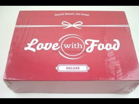 Love with Food Box July 2018