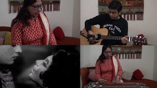 Lag Jaa Gale | Lata Mangeshkar | Hawaiian Guitar Instrumental by Sonali Nath