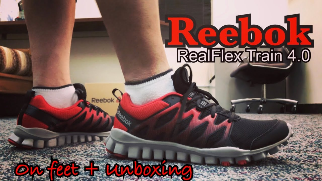 newest a6b76 cde63 Reebok RealFlex Train 4.0   Unboxing and On Feet