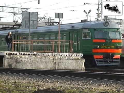 Железнодорожная станция Лобня (2007 год)