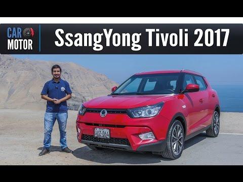 SsangYong Tivoli 2017 - Una buena propuesta coreana
