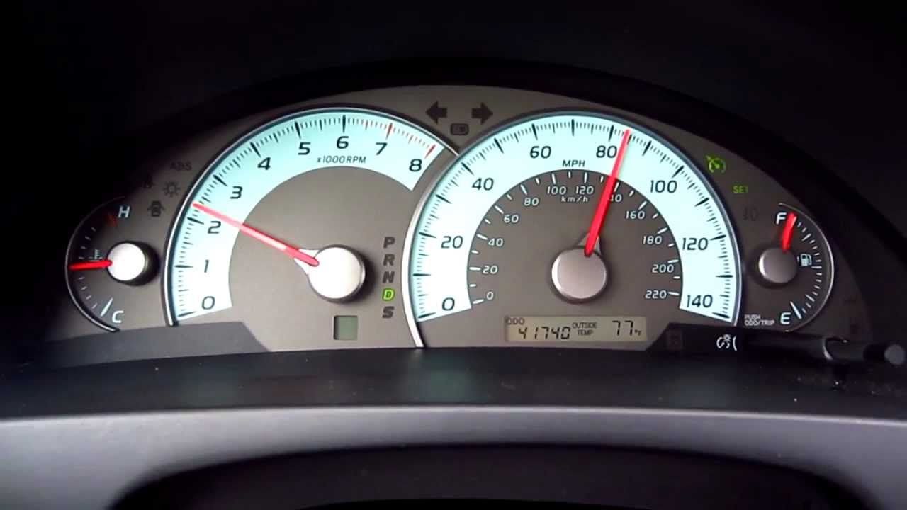 2010 Toyota Camry Se 2010 Toyota Camry Se 25l I4 Speeding Up From 65 Mph To 90 Mph