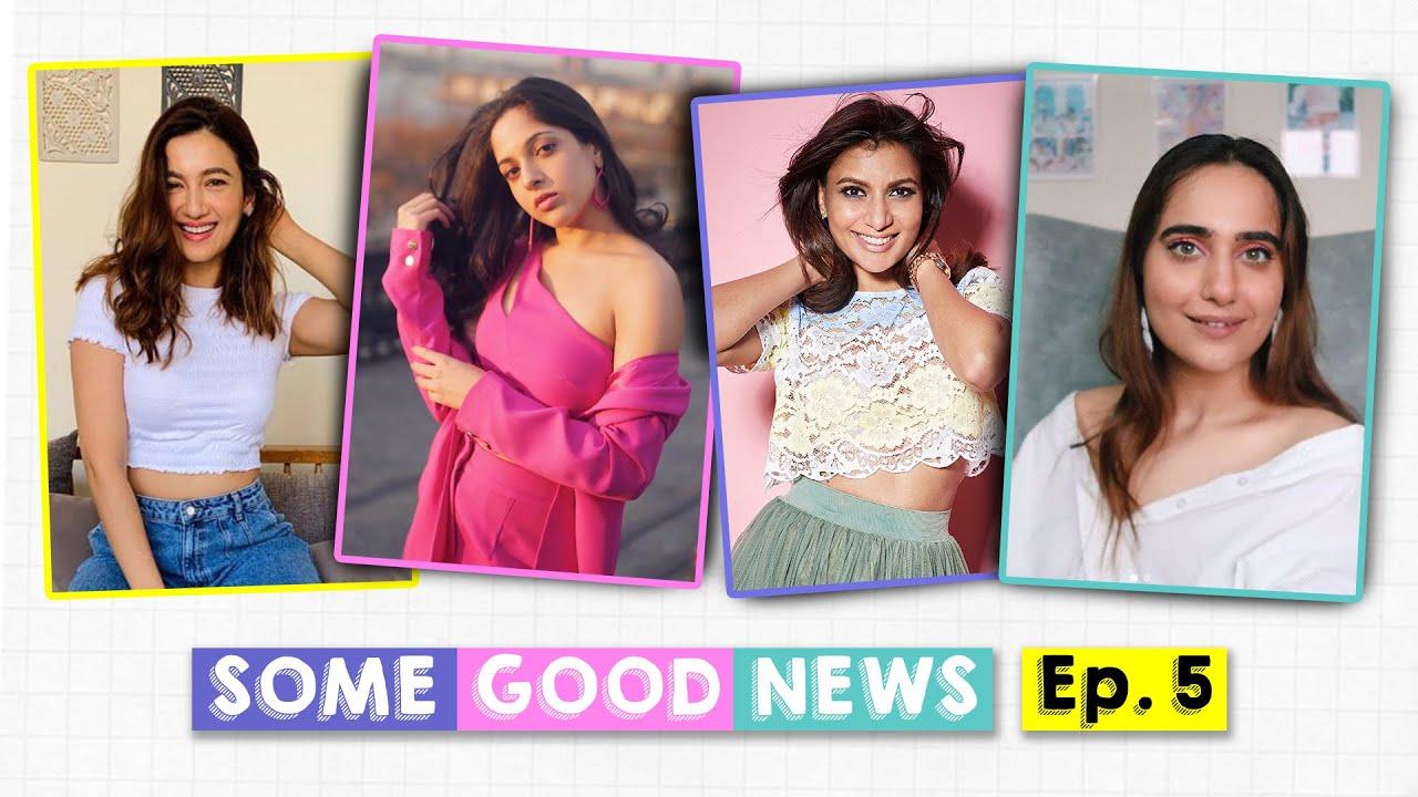 Some Good News India Ep 5: Kusha Kapila Encourages Content Creators to Spread Positivity