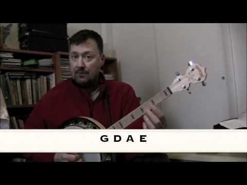 Lessons with Paul Foster - Tenor Banjo Strings.m4v