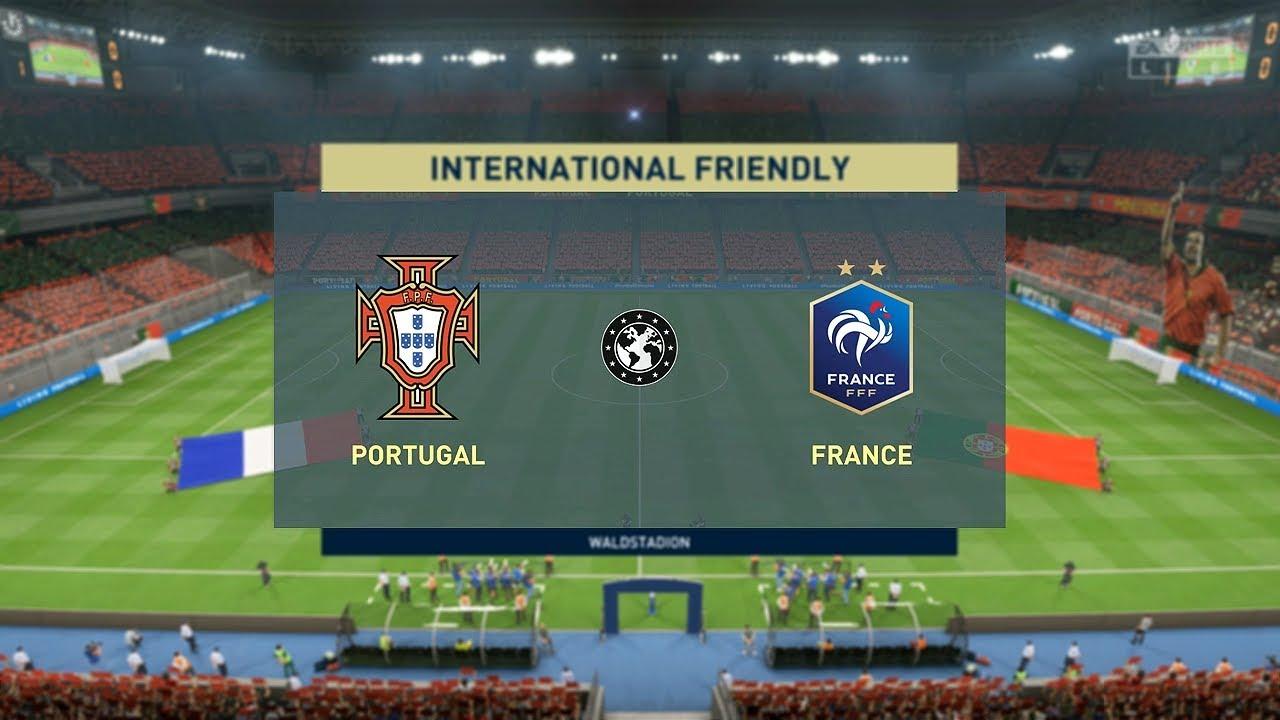 FIFA 20 | Portugal vs France | UEFA EURO | - PS4 - YouTube