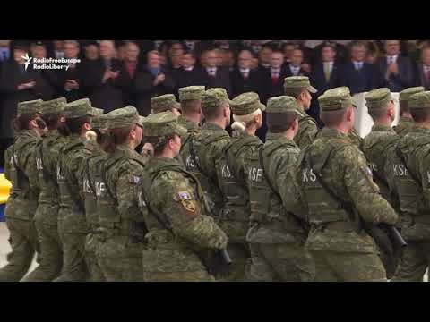 Kosovo Security Services Mark Independence Anniversary With Pristina Parade
