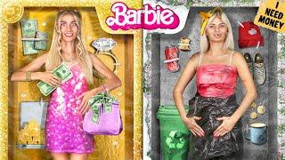 Богатая Барби VS Бедная Барби