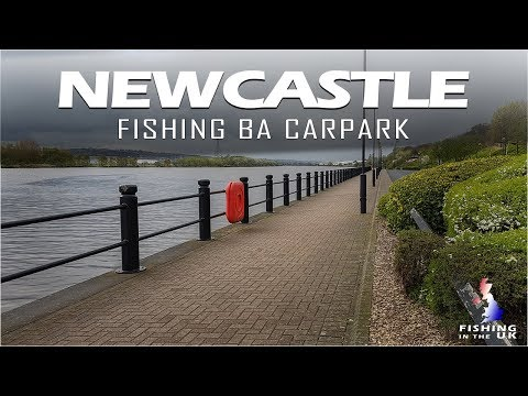 Fishing British Airways Car Park The River Tyne Newcastle
