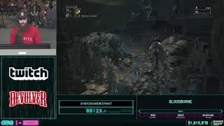 Bloodborne by heyZeusHeresToast in 47:59 - AGDQ2019