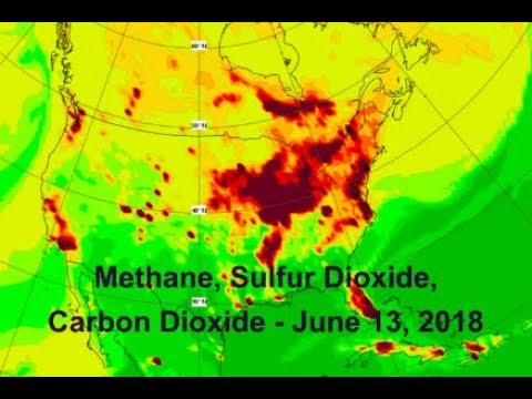 Methane, Sulfur Dioxide, Carbon Dioxide (June 13, 2018)
