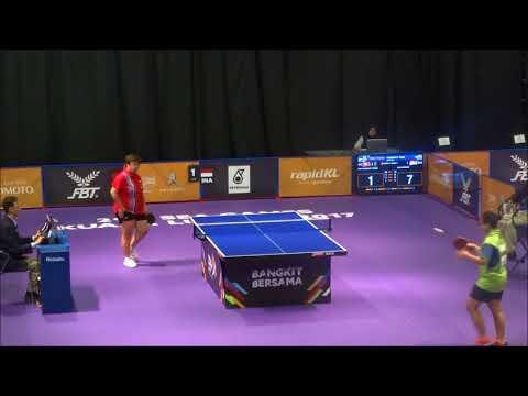 SEA Games 2017,Table tennis, Indonesia V Vietnam 3rd Single,  25 8 2017 Women Group