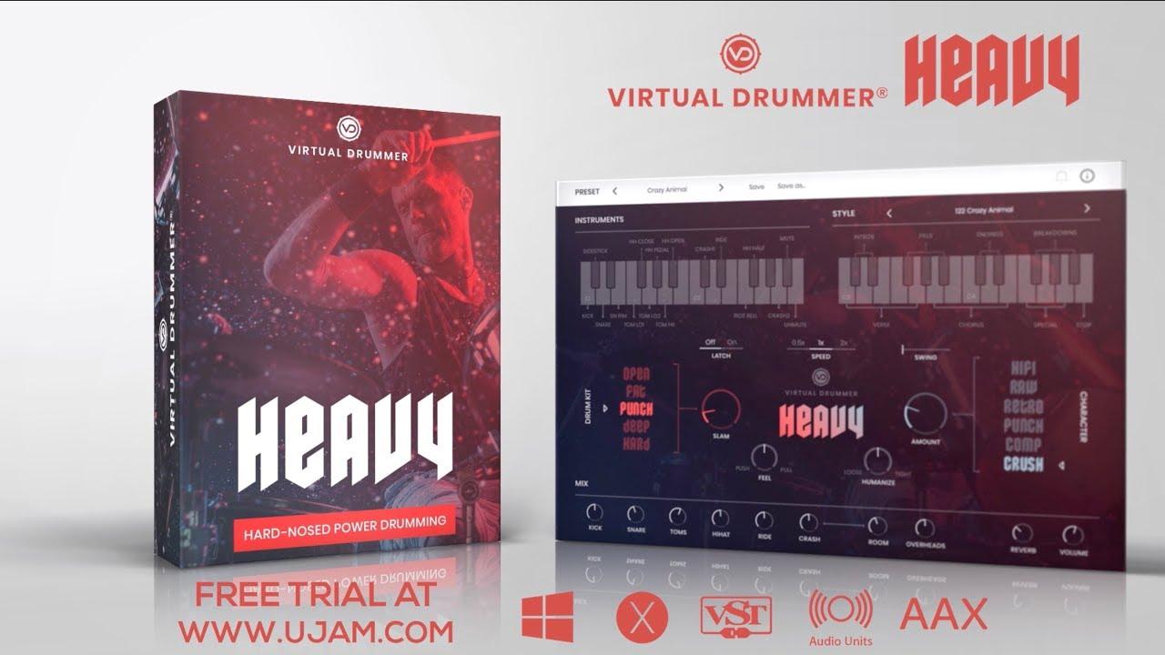 UJAM Instruments presents: Virtual Drummer HEAVY
