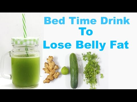 Bed Time Drink To Lose Belly Fat In Week