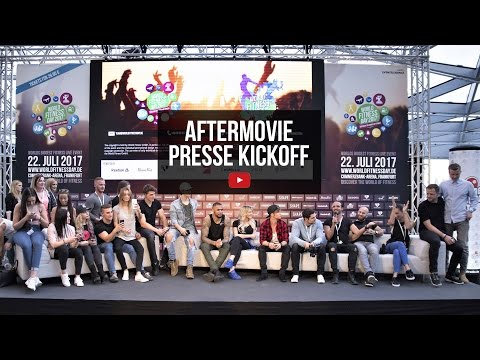 WORLD FITNESS DAY | Aftermovie Presse KickOff