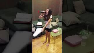 龚芷葳(10岁)练唱~追梦赤子心