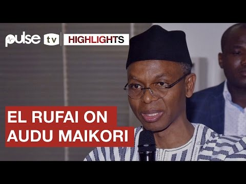 "El Rufai Speaks On Audu Maikori's Tweets ""What He Posted May Have Led To Killings."" 