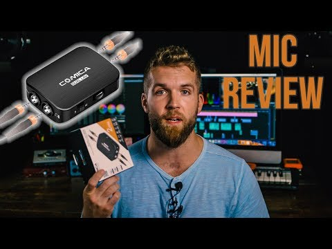 Comica Dual Lav - D03 Review // Compared to other pro lav mics