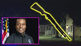 peaceful protesters SHOOT shotgun into cop's house - Officer Joseph Mensah