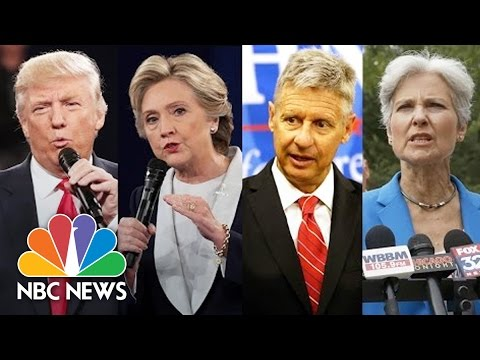 How Third Party Candidates Will Affect The 2016 Election | NBC News